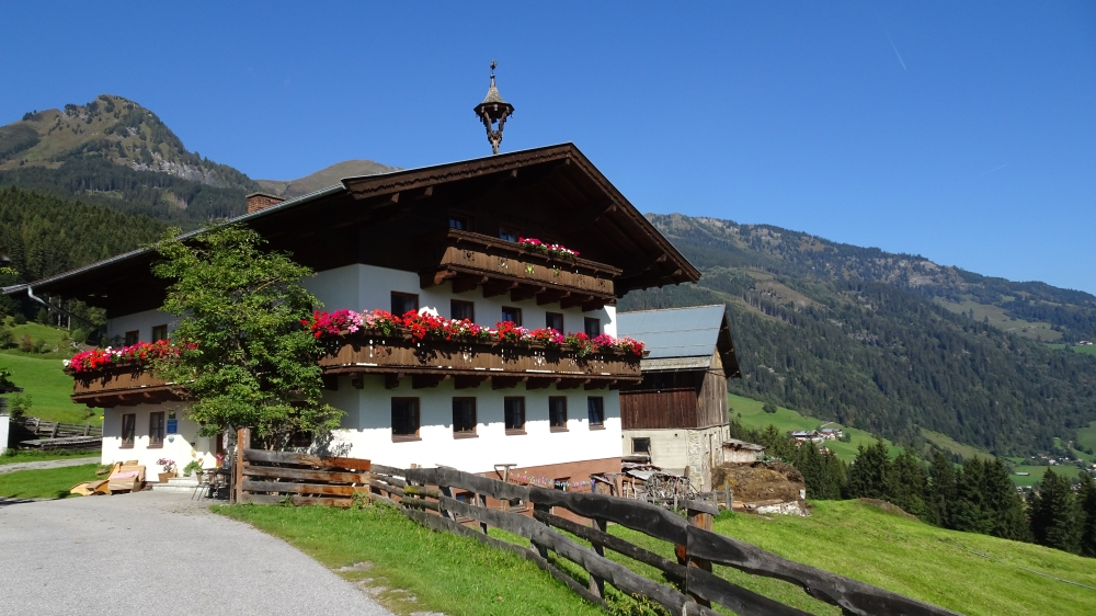 Ferienwohnung Biohof Maurachgut - Urlaub in den Bergen Bad Hofgastein - Weinetsberg 4 5630 Bad Hofgastein - Anbieter Schuster