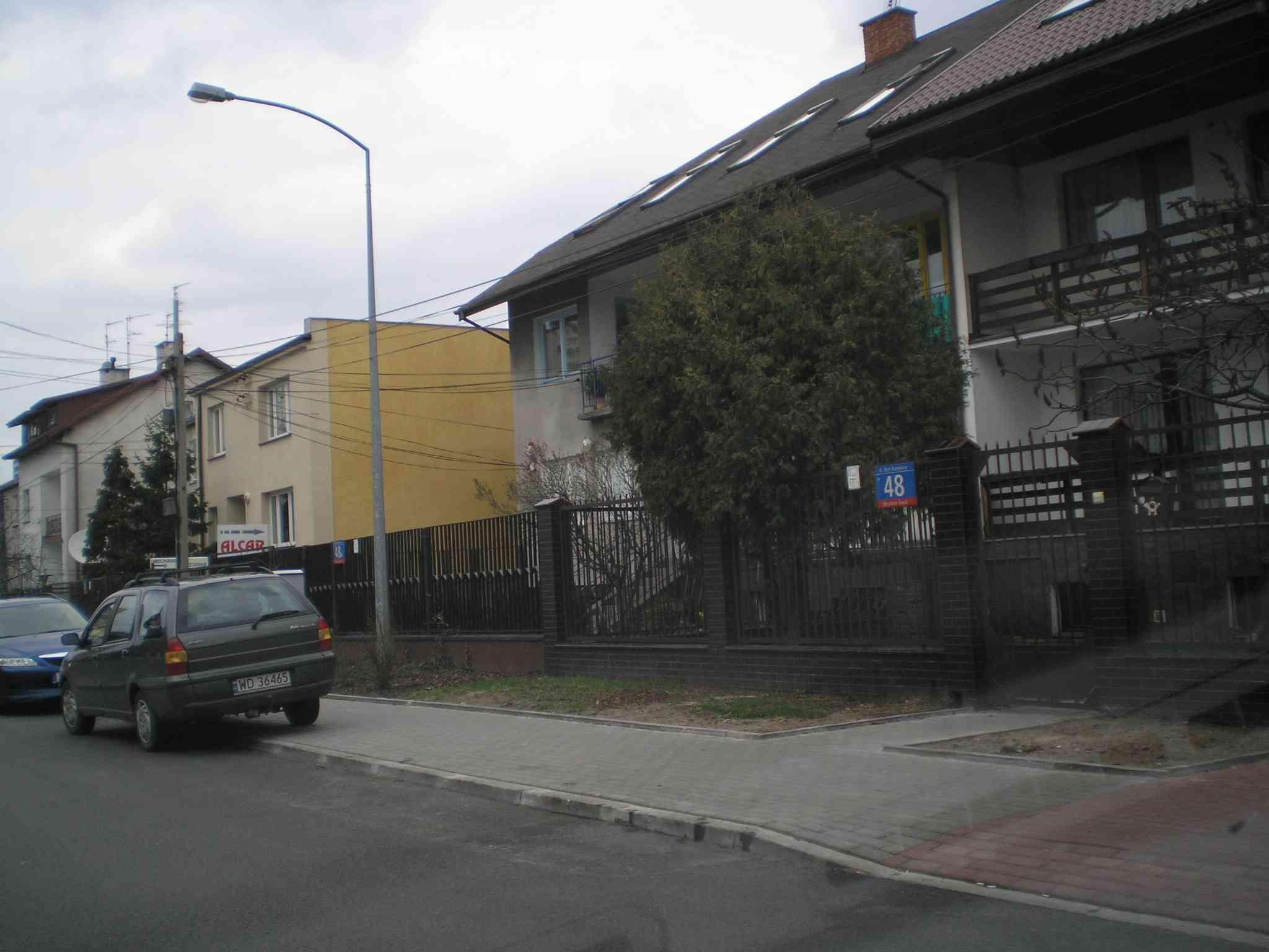 Appartement gemütlich in Warschau, Haus