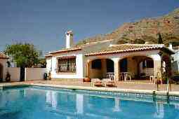 Ferienhaus Villa KL Montgo Denia - Anbieter Costa Blanca Ferien