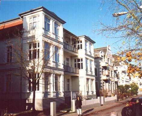Ferienwohnung Villa Kurfürst und Carola Bansin - Anbieter Herz
