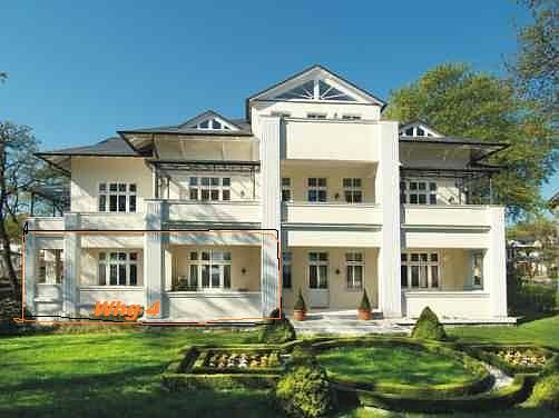 Ferienwohnung Villa Caprivi Heringsdorf - Neuer Weg 3 17424 Heringsdorf - Anbieter R. Ksoll