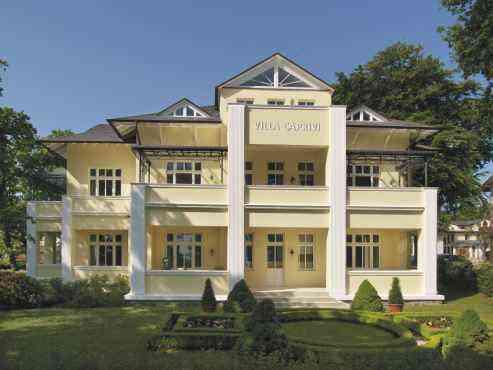 Ferienwohnung Villa Caprivi, Haus