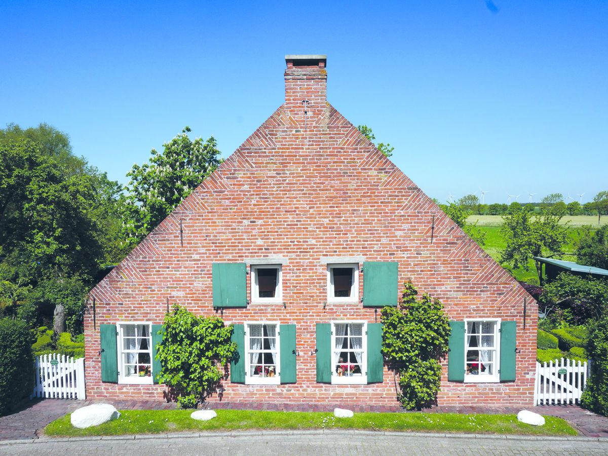 Ferienhaus Maukes Huus Groothusen - Anbieter Boomgaarden