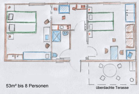 Ferienwohnung Brunner Ballenstedt - Thomas-Mann-Straße 30 06493 Ballenstedt - Anbieter Karin Brunner Tel:039483-8744