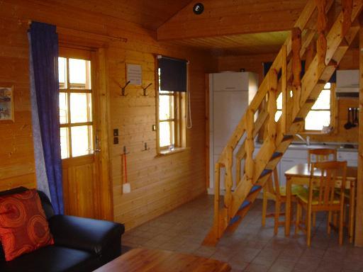 Ferienhaus Ferien im Blockhaus an der Nordsee, Haus