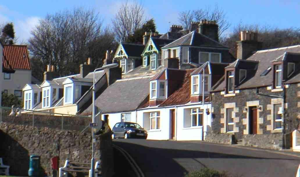 Ferienhaus Cluny Cottage Fife, Haus
