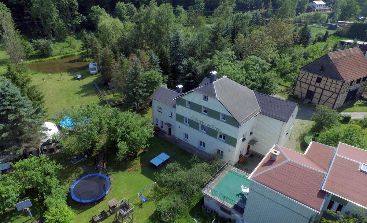 Ferienwohnung Gästehaus Stein Rottenbach - Rudolstädter Str. 11 07422 Rottenbach - Anbieter Stein