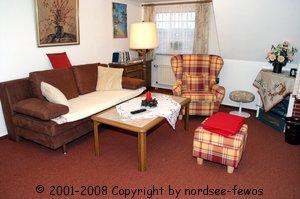Ferienwohnung nordsee-fewos Obj. 126 Friesenhof Appartements, Zimmer