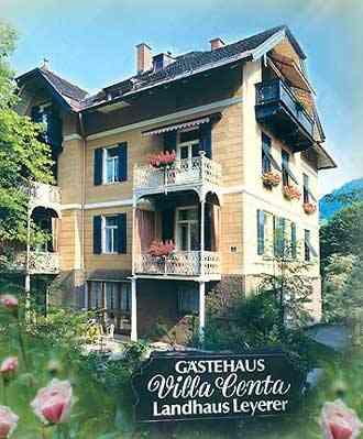 Gaestezimmer Villa Centa, Hotel Garni a.d.Klinik Hochstaufen Bayerisch Gmain - Lattenbergstrasse 2,Herkommerstr. 83457 Bayerisch Gmain - Anbieter Leyerer