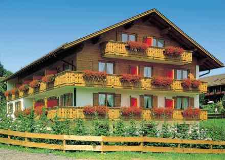 Ferienwohnung Ferienhotel Gertraud Bad Kohlgrub - Kehrer Straße 22 82433 Bad Kohlgrub - Anbieter Carl Mair