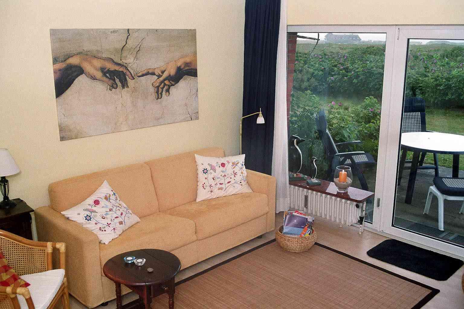 Appartement Kampen Meerblick im Haus Kampbarg, Zimmer