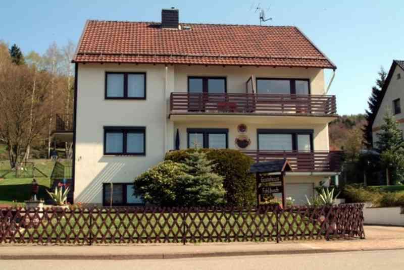 Ferienwohnung Gästehaus Fahlbusch Whg. 1, Haus