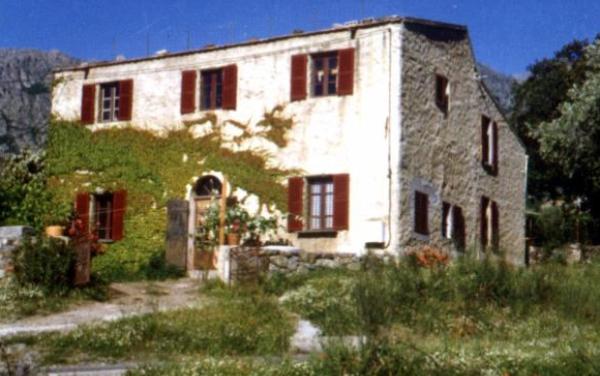 Ferienwohnung Ölmühle San Nicolao Urtaca Ile Rousse - Anbieter Edel Hauck