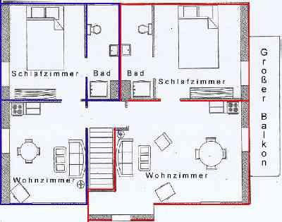 Ferienwohnung Familie Dittmann, Zimmer
