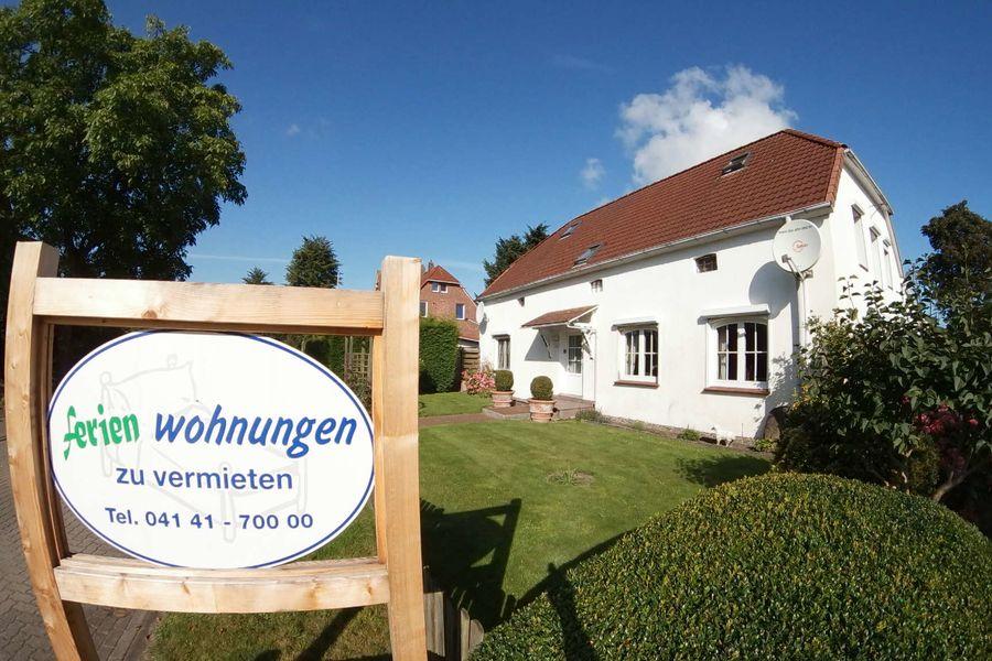 Ferienwohnung Haus Bassenfleth Hollern-Twielenfleth - Bassenfleth - Am Wegen3 a 21723 Hollern-Twielenfleth - Bassenfleth - Anbieter te Poele Jutta & Hans-Dieter