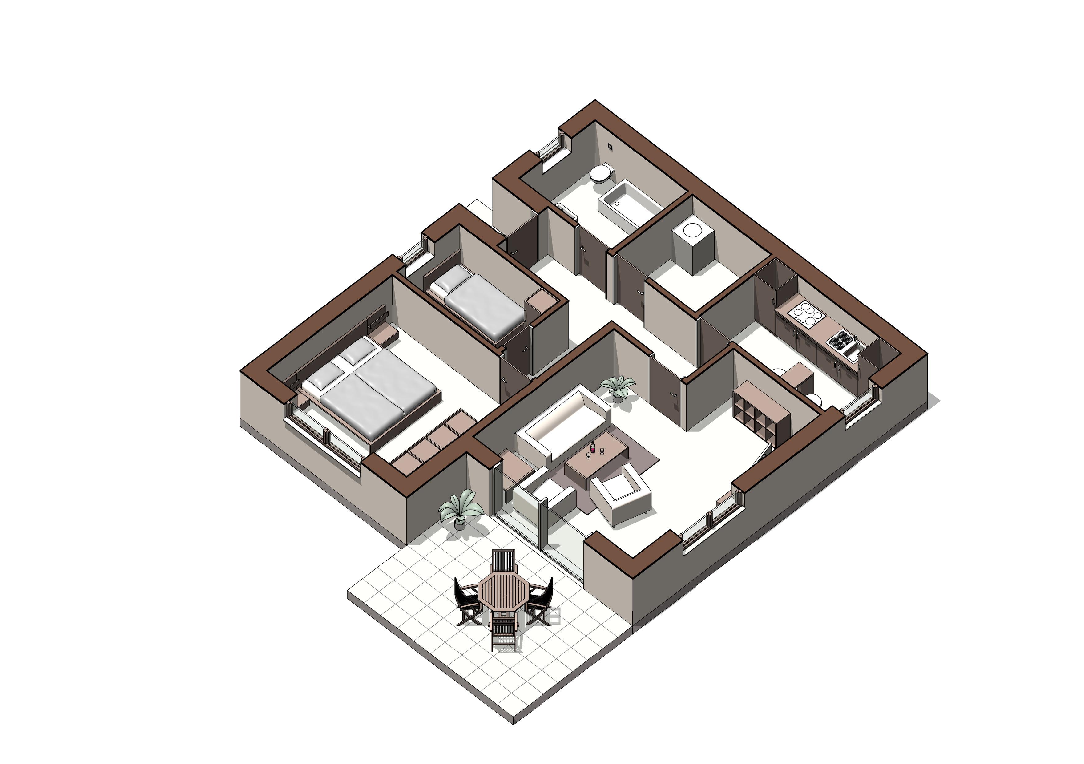 Ferienwohnung Ostseebad-Schönberg Ferienwohnung & Appartementvermietun, Zimmer