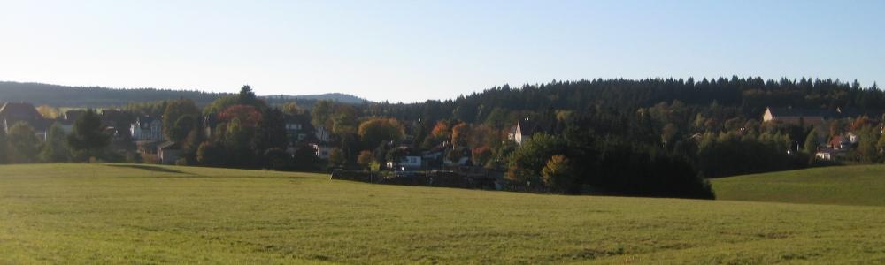 Urlaub in Benneckenstein